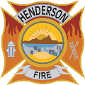 Henderson Fire Department logo.